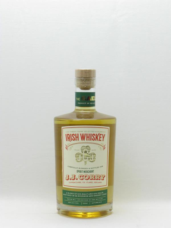 J J Corry The Gael Whiskey 50cl 46% Ireland Image 1