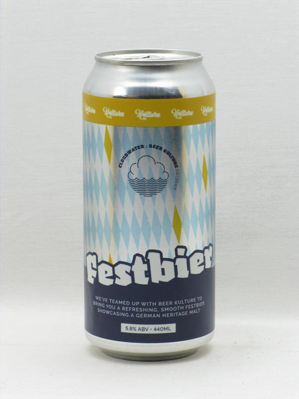 Cloudwater x Beer Kulture Festbier 440ml Manchester Image 1
