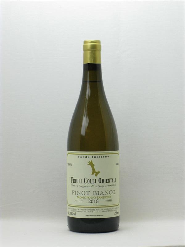 Nec Otium Pinot Bianco 2018 Veneto Image 1
