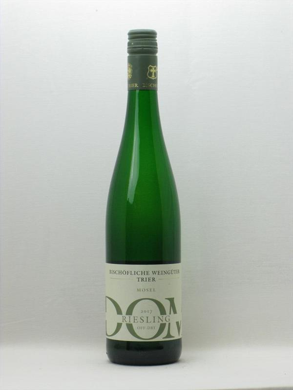 Bischofliche Weinguter Trier DOM Off Dry Riesling 2017 Mosel Image 1
