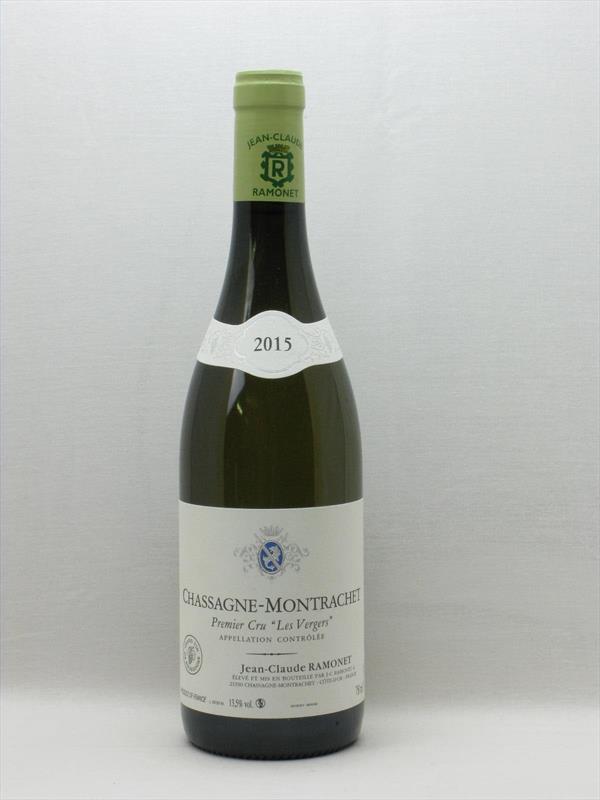 Ramonet Chassagne Montrachet 1er Cru Les Vergers 2015 Burgundy Image 1
