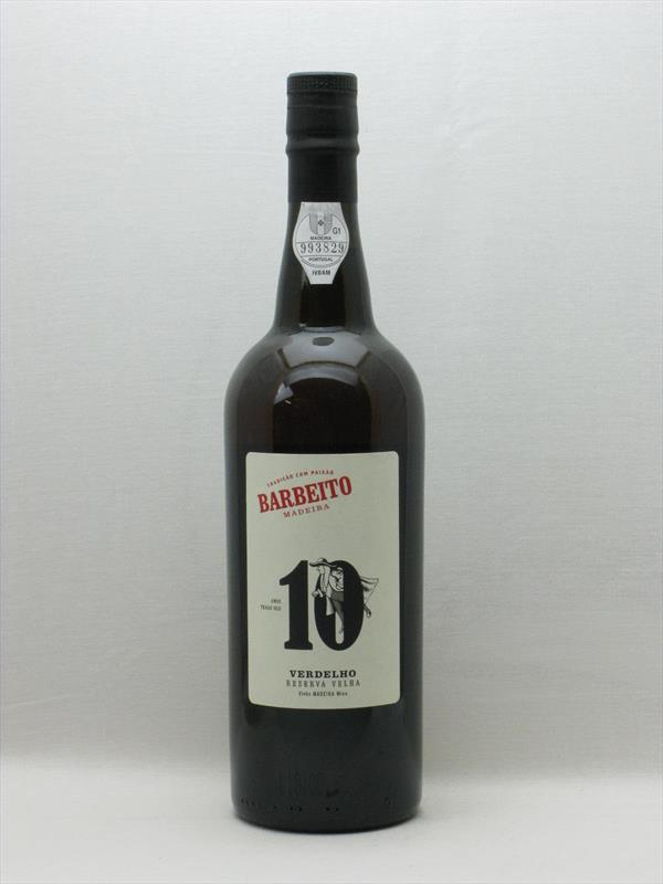 Barbeito Verdelho Old Reserve 10 Years Old Madeira Image 1