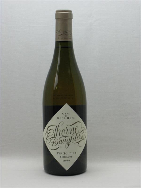 Thorne and Daughters Tin Soldier Semillon 2019 Western Cape Image 1