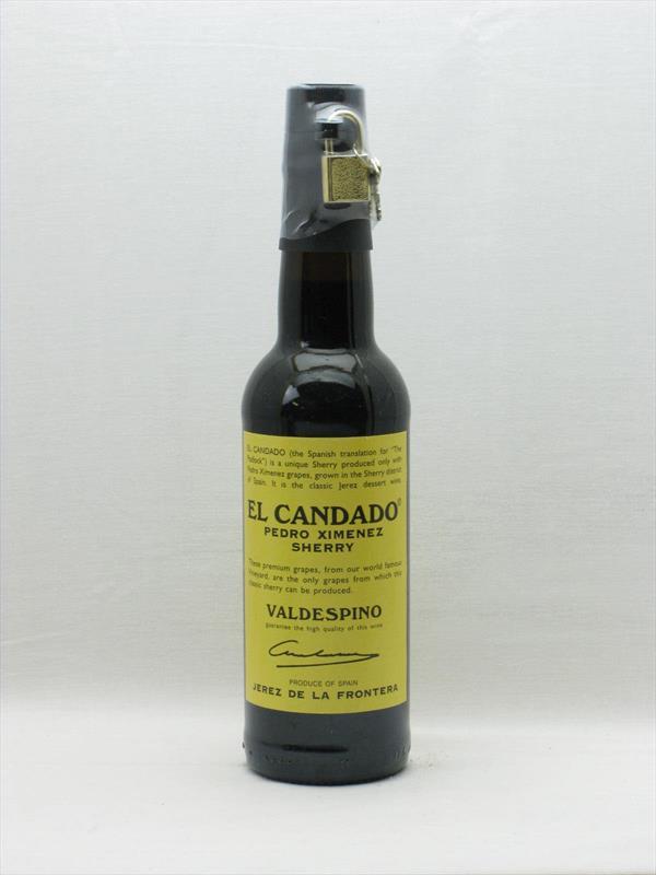Valdespino El Candado Pedro Ximinez Half Bottle Jerez Image 1