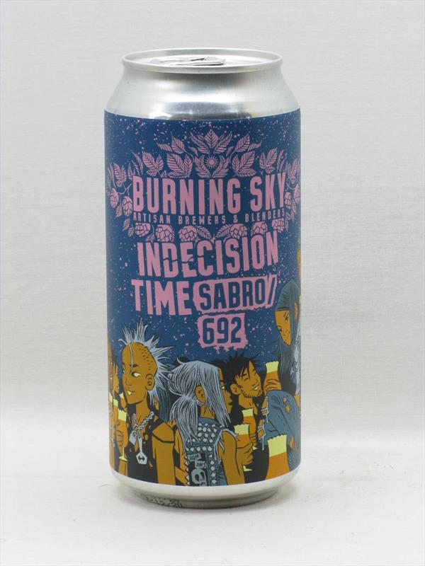 Burning Sky Indecision Time Sabro IPA Sussex 440ml Image 1