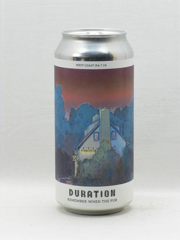Duration Brewing Remember When The Pub IPA Norfolk 440ml Image 1