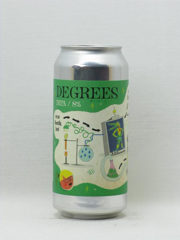 Verdant x Deya Degrees 8% DIPA 440ml Image 1