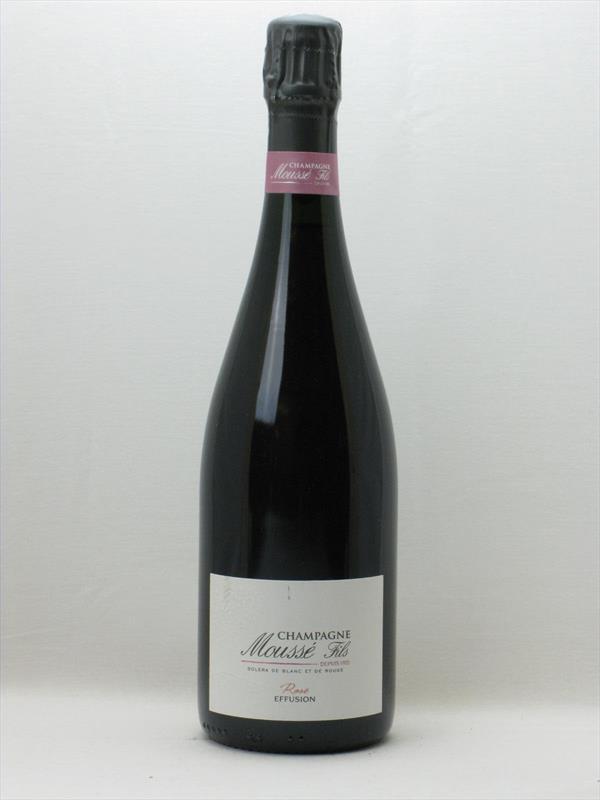 Champagne Mousse Cuvee Effusion Rose NV Image 1