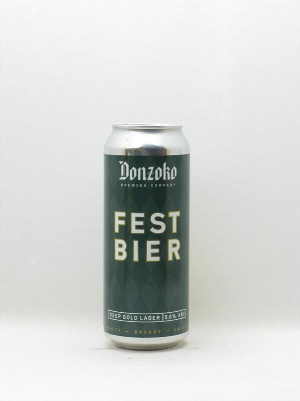 Donzoko Festbier Lager 500ml, Hartlepool Image 1