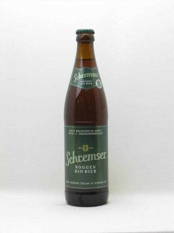 Schremser Bioroggen Rye Ale 500ml Austria Image 1
