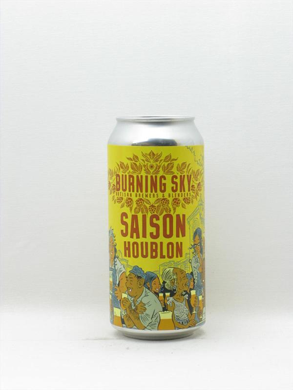Burning Sky Saison Houblon Sussex 440ml Image 1