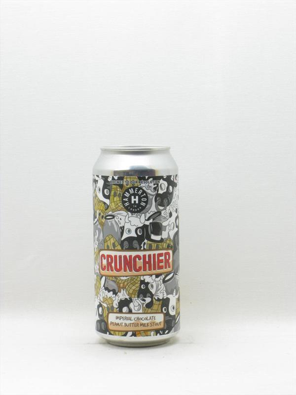 Hammerton Brewery Crunchier Imperial Chocolate Peanut Butter Milk Stout 9.1% Islington 440ml Image 1