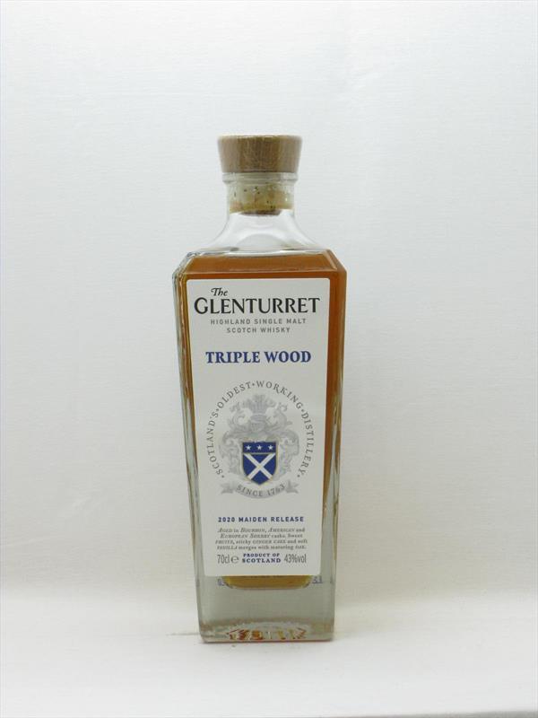 Glenturret Triple Wood 43% Scotland Image 1