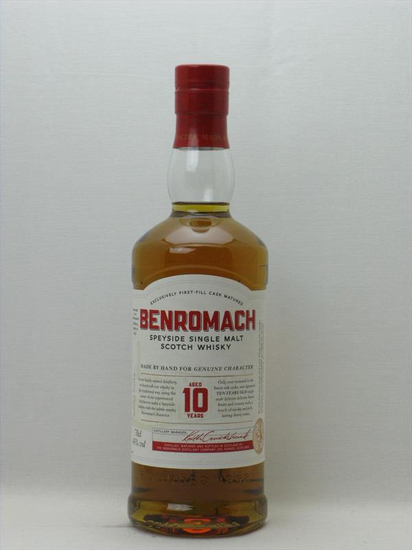 Benromach 10 Year Old Single Malt 43% Scotland Image 1