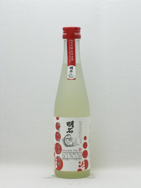Akashi Tai Junmai Ginjo Sparkling Sake 300ml Japan Image 1