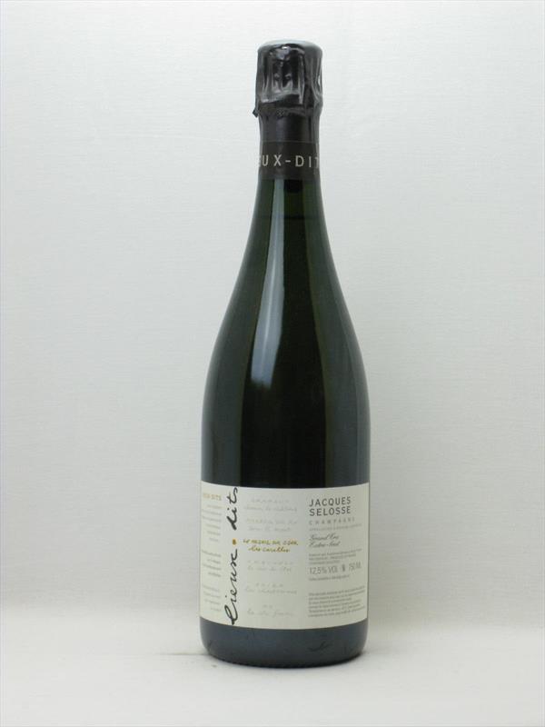 Champagne Jacques Selosse Les Carelles Lieux Dit Image 1