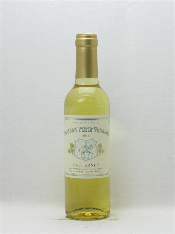Chateau Petit Vedrines Half Bottle 2016 Sauternes Image 1