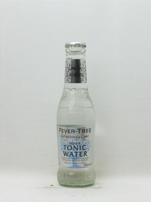 Fever Tree Naturally Light Tonic Water 200ml Image 1