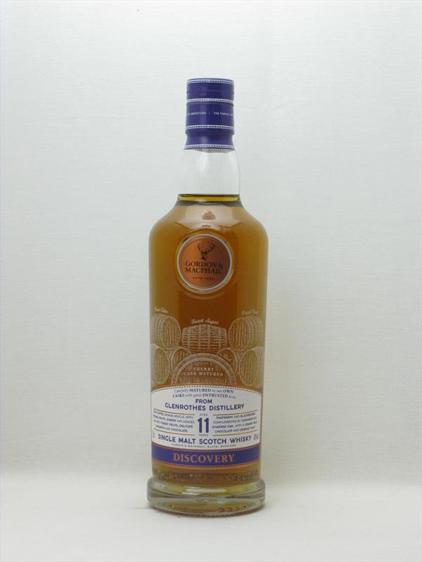 G&M Discovery Glen Rothes 11 Year Old (Sherry Cask) Scotland Image 1