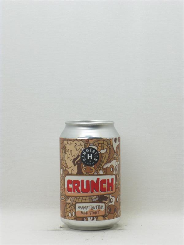 Hammerton Brewery Crunch Peanut Butter Milk Stout Islington 330ml Image 1