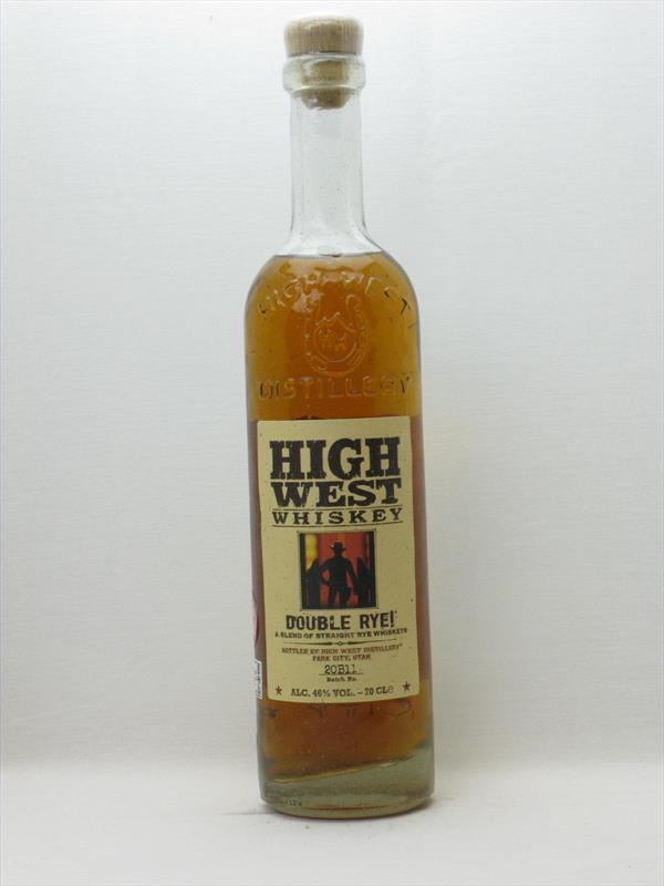 High West Double Rye 46% Utah USA Image 1