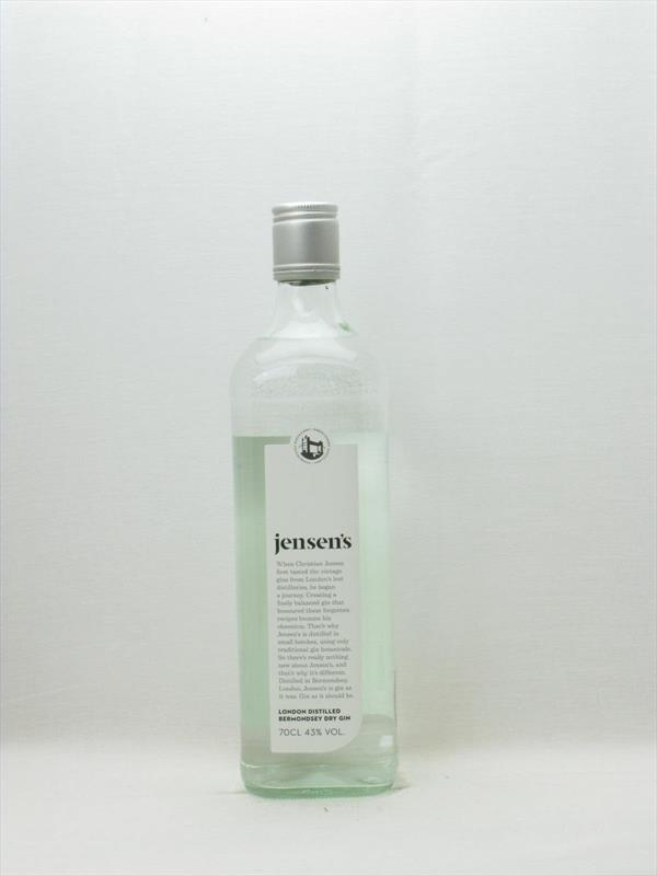 Jensen Bermondsey Dry Gin 43% UK Image 1