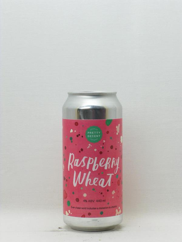 Pretty Decent Raspberry Wheat Beer Forest Gate 440ml Image 1