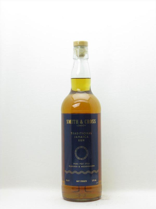 Smith and Cross Overproof Rum 57% Jamaica Image 1