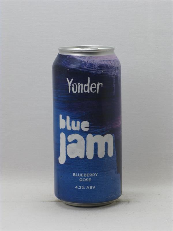 Yonder Blue Jam Blueberry Gose 4.2% 440ml Binegar Image 1