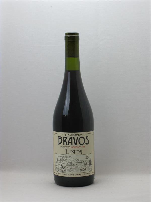 Vinateros Bravos Granitico Cinsault 2019 Itata Chile Image 1