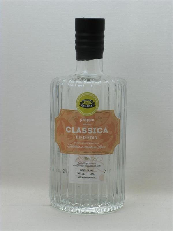 Quaglia Grappa Classica 40% Piedmont Image 1