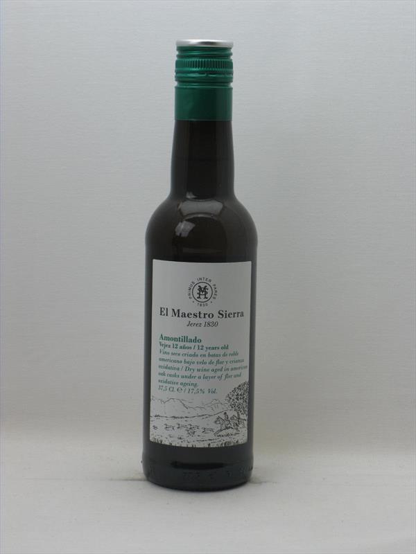 El Maestro Sierra Amontillado Half Bottle Jerez Image 1