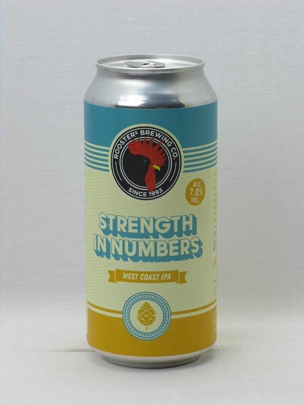 Roosters Strength In Numbers West Coast IPA 7% 440ml Harrogate Image 1