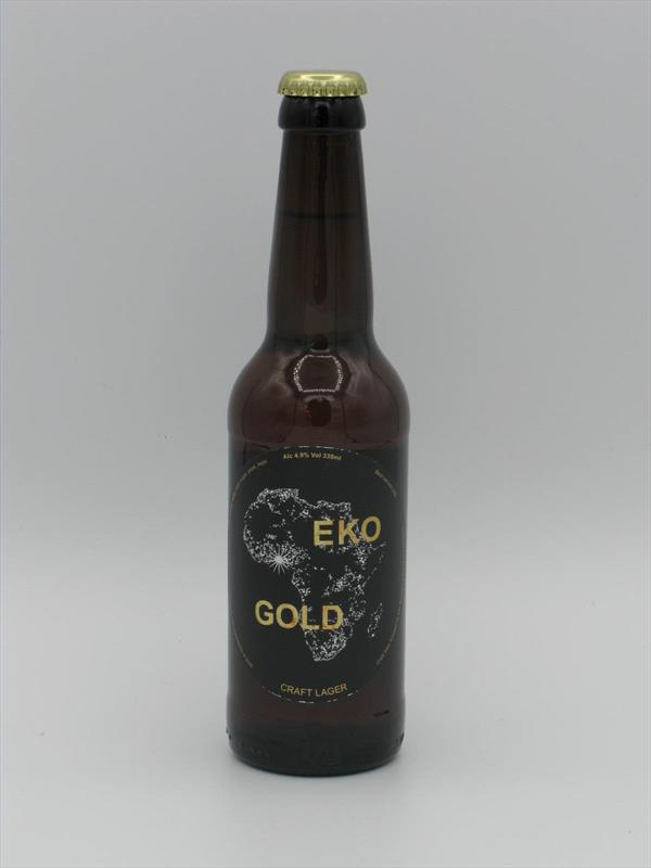 Eko Brewery Gold Lager 330ml London Image 1