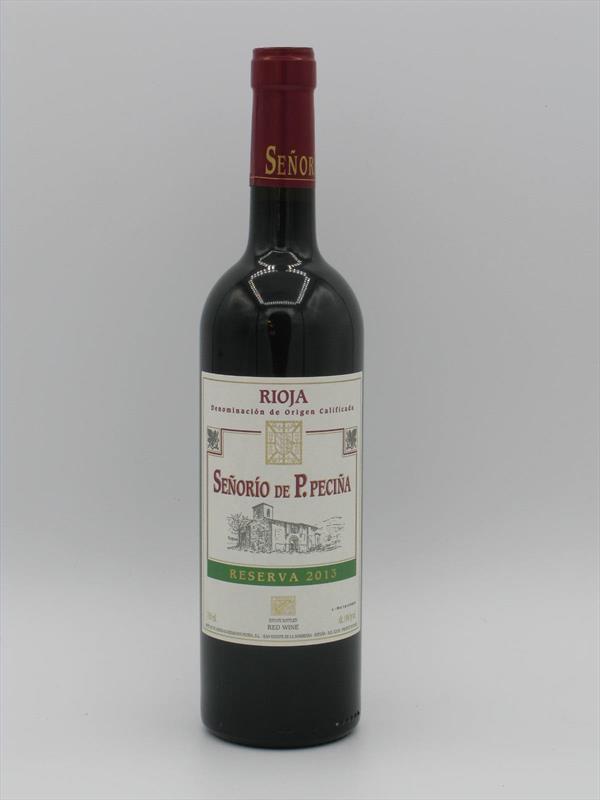 Senorio de Pecina Reserva 2013 Rioja Image 1