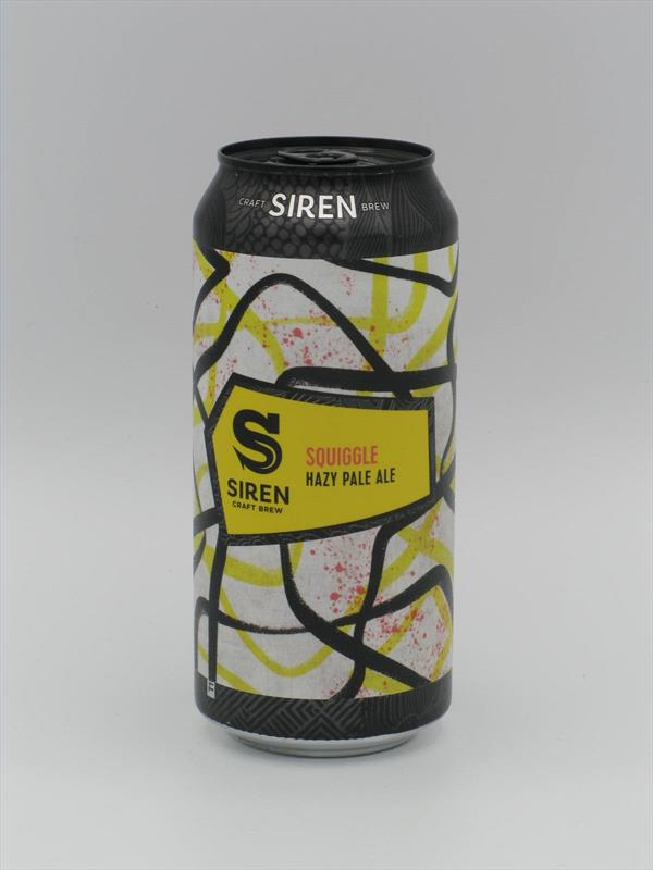 Siren Squiggle Hazy pale 4.7% 440ml Finchampstead Image 1