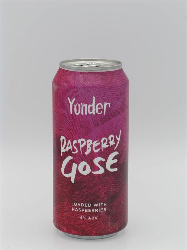 Yonder Raspberry Gose 4% 440ml Binegar Image 1