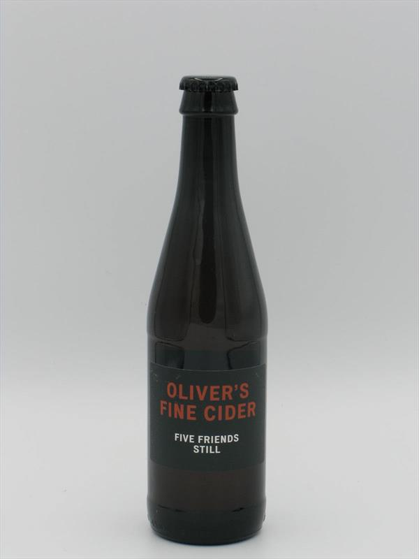Olivers Five Friends 2018/19 6.8% 330ml Herefordshire Image 1