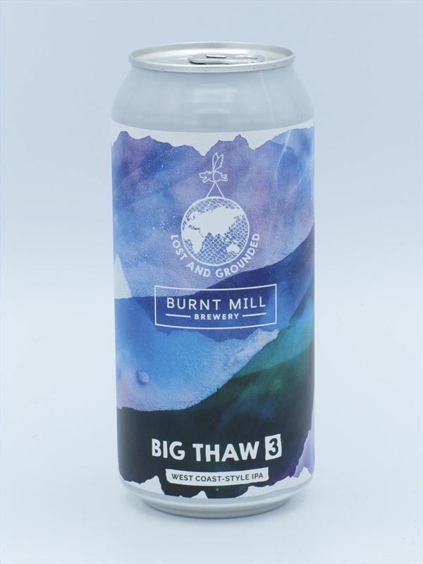 Lost and Grounded Big Thaw 3 Westie 6.8% 440ml Bristol Image 1