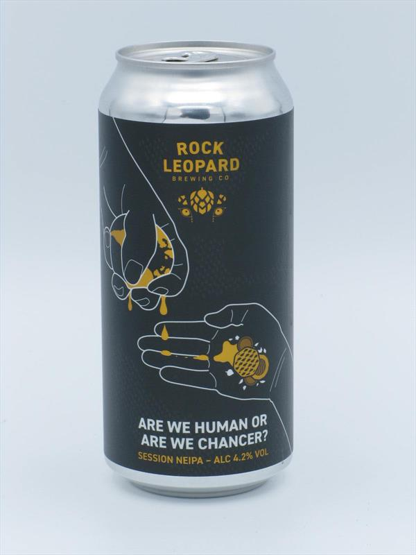 Rock Leopard Are We Human Or Are We Chancer? Session NEIPA 4.2% 440ml Welling Image 1