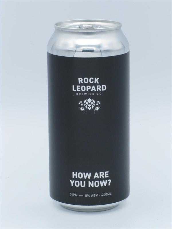 Rock Leopard How Are You Now? DIPA 8% 440ml Welling Image 1