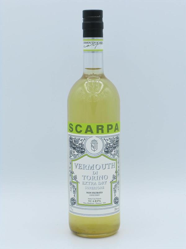 Scarpa Vermouth di Torino Extra Dry 18% Piedmont Image 1