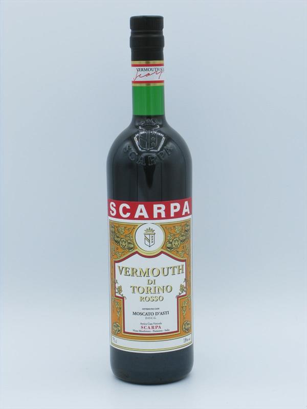 Scarpa Vermouth di Torino Rosso 18% Piedmont Image 1