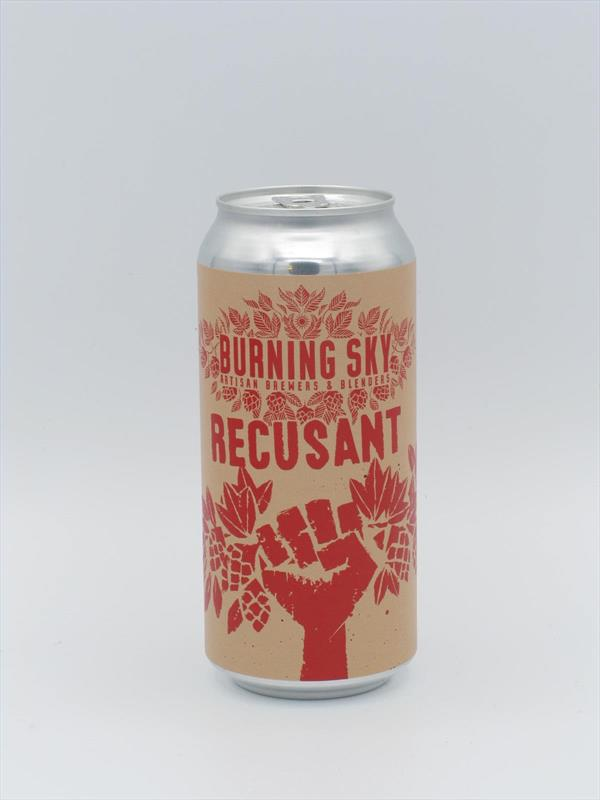Burning Sky Recusant Belgian-style Wild Ale 6.3% 440ml Sussex Image 1