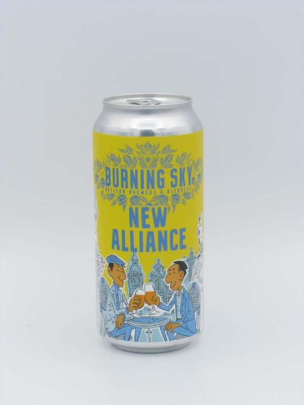 Burning Sky New Alliance Pale Ale 4.5% 440ml Sussex Image 1