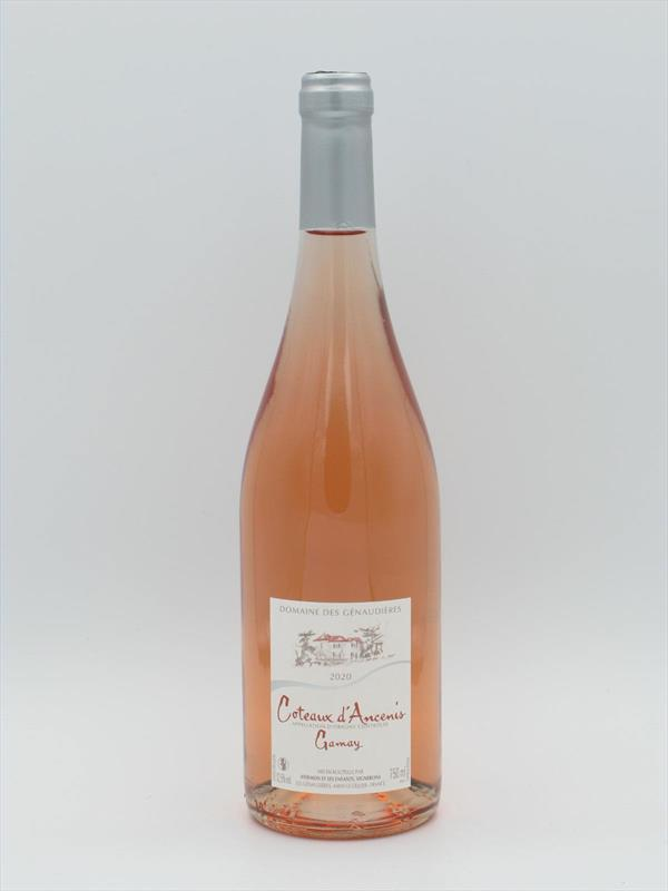 Genaudieres Gamay Rose 2020 Coteaux Ancenis Loire Image 1