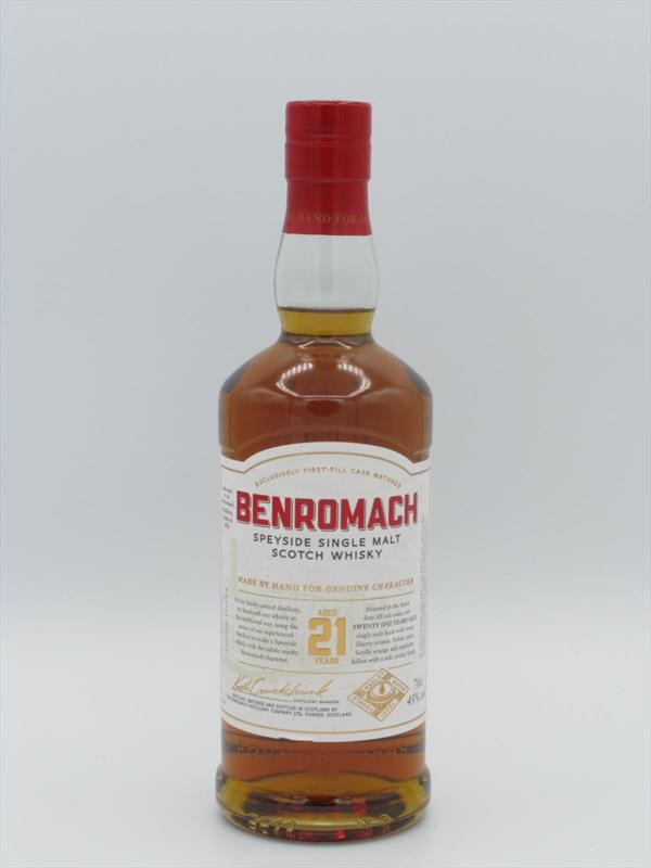 Benromach 21 Year Old Single Malt 43% Scotland Image 1