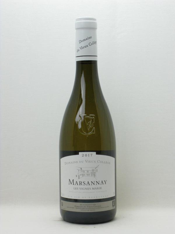 Vieux College Marsannay Blanc Les Vignes Marie 2018 Burgundy Image 1