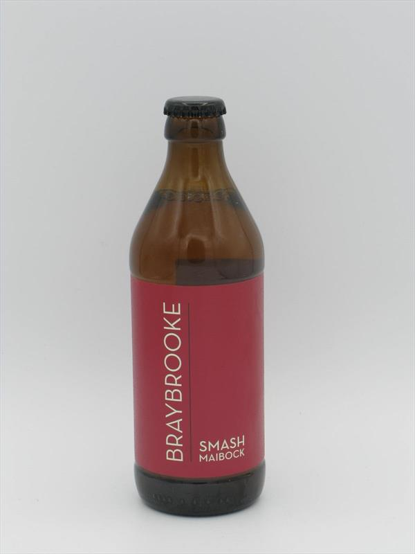 Braybrooke SMASH Maibock Lager 6.7% 330ml Leicestershire Image 1