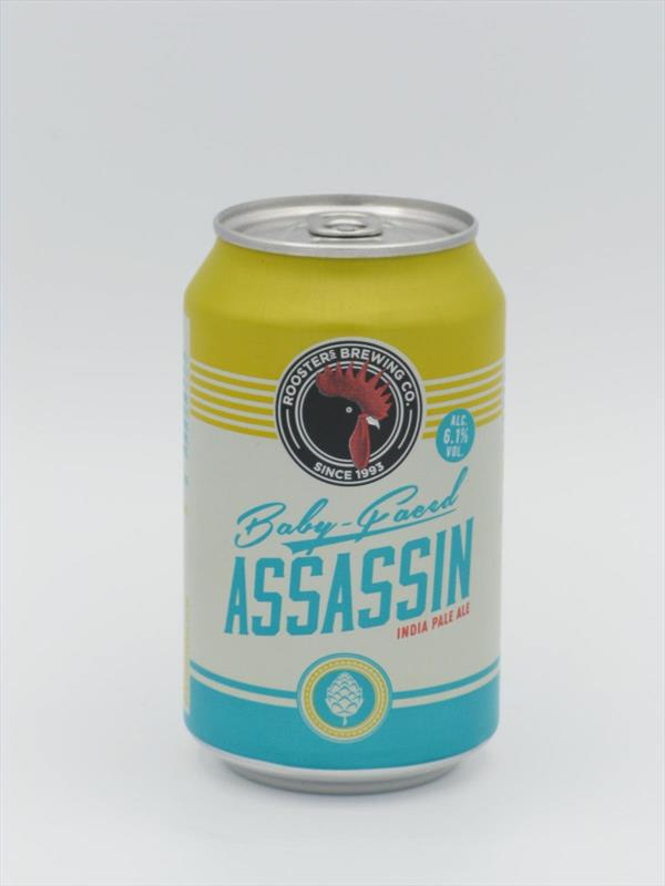 Roosters Baby Faced Assassin IPA 6.1% 330ml Harrogate Image 1